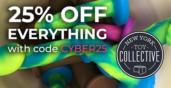25% off all orders over $150 at New York Toy Collective with code CYBER25