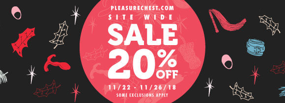 20% off everything at Pleasure Chest!
