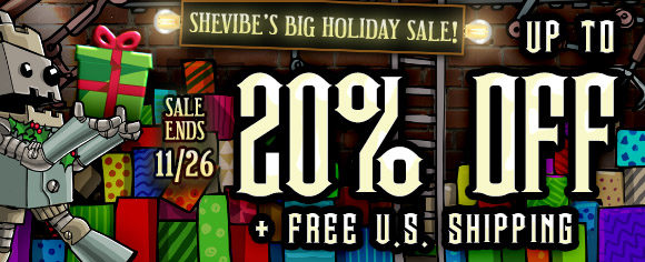 Up to 50% off at SheVibe, plus free U.S. shipping!