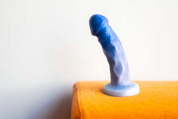 Uberrime Splendid silicone dildo