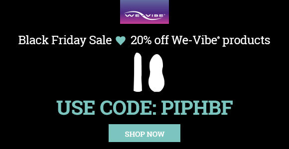 20% off at We-Vibe for Black Friday!