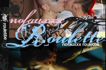 DVD cover of Roulette, queer porn directed by Courtney Trouble