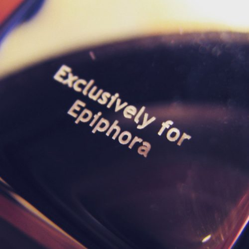 "Yes, I have a vibrator engraved with the phrase ""Exclusively for Epiphora,"" what?"