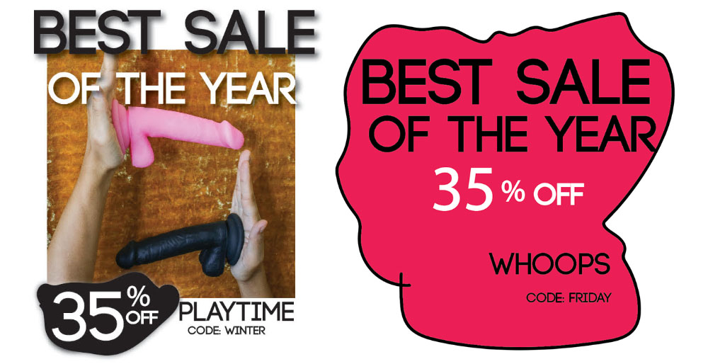 35% off Playtime line and whoops toys at New York Toy Collective.