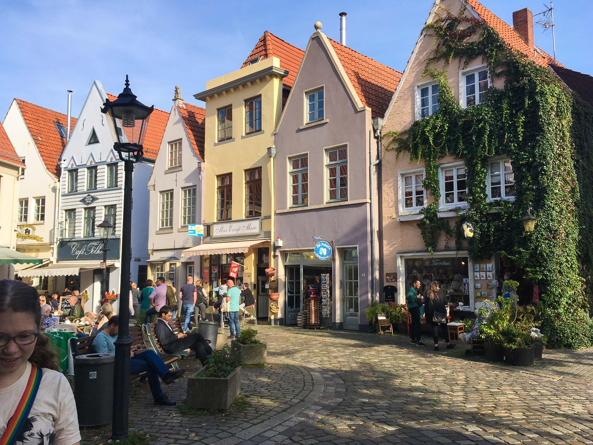 The Schnoor in Bremen, Germany.