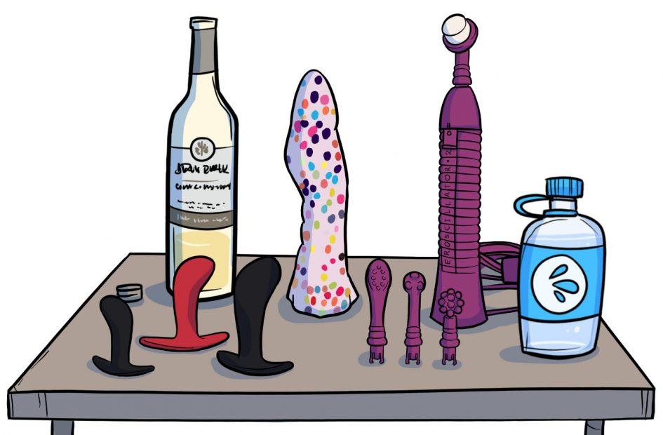 Sex Toy Survival Kit #9: Bulk Wine Order